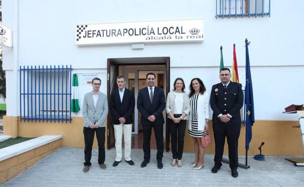 Dependencias de la Policia Local en Alcalá la Real. /Ideal.