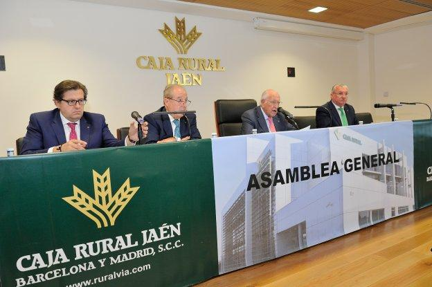 La caja rural de ja n blindada para evitar una for Caja rural jaen oficinas