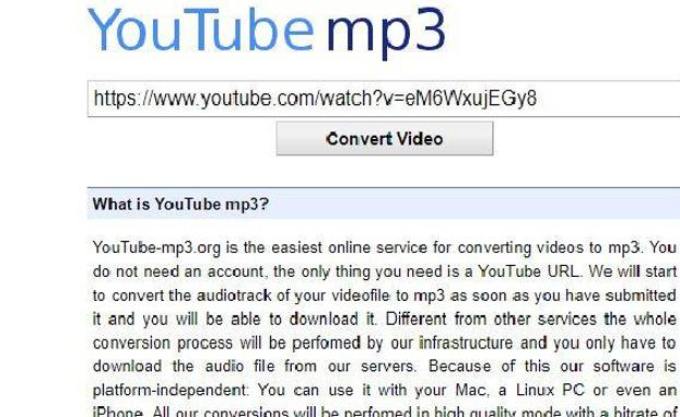 Youtube-mp3 cierra y estas son las tres alternativas