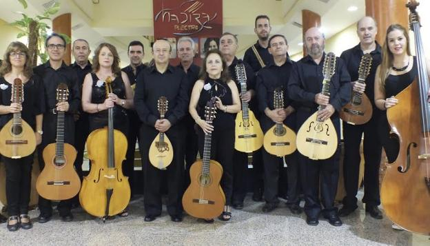 Orquesta Hadira Plectro de Jaén./IDEAL