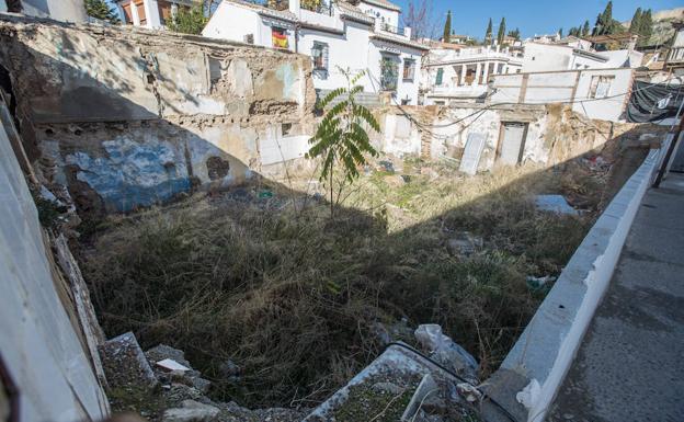 Estado en el que se encuentra el entorno de la Placeta de Castillas número 1.