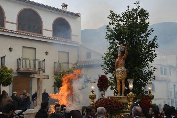 Padul celebra hoy y mañana sábado sus fiestas patronales en honor a San Sebastián