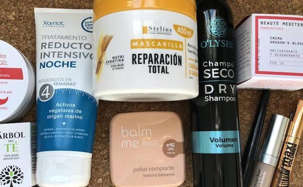 Los 10 productos de belleza por menos de 6 euros que