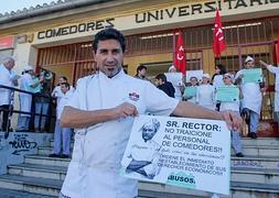 Los trabajadores de los comedores de la UGR se plantan y no dan ...