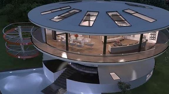 Una empresa andaluza crea la primera casa giratoria en Europa