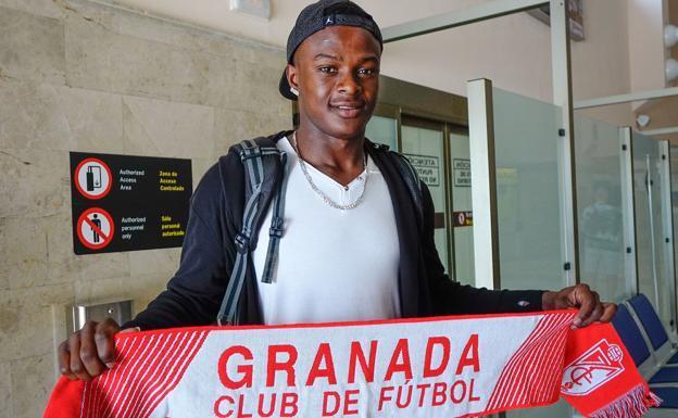 José Angulo, a su llegada a Granada en 2016. //R.L.P.