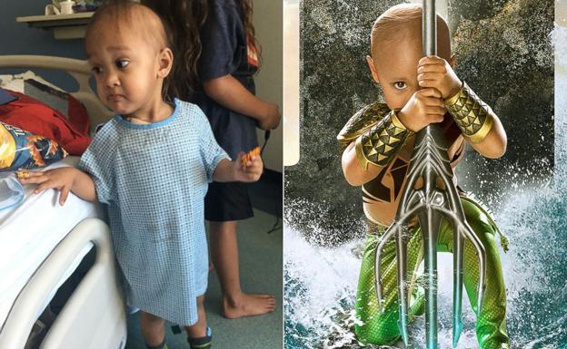 El emotivo gesto de un fotógrafo al convertir a niños enfermos en héroes    Ideal