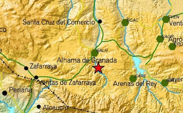 Mapa Alhama De Granada.Terremoto En Alhama De Granada Ideal