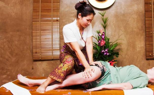 Resultado de imagen de masaje tailandes