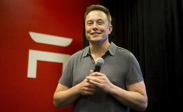 33376fb507b Elon Musk , director ejecutivo de Tesla Motors.