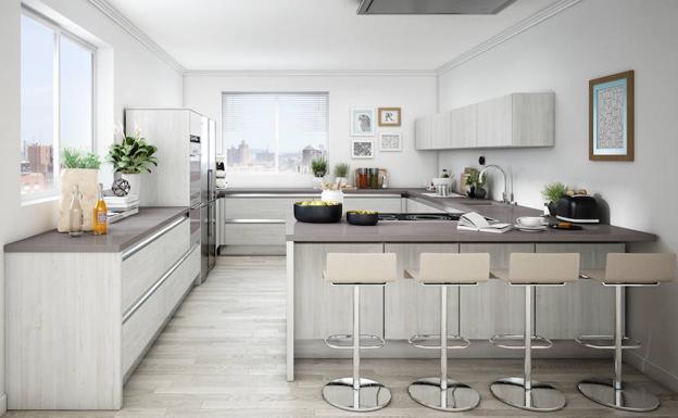 Cuatro claves para crear la cocina con la que siempre soaste Ideal