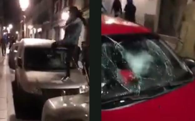 El impactante vídeo de la Policía sobre los disturbios de Lavapiés ...