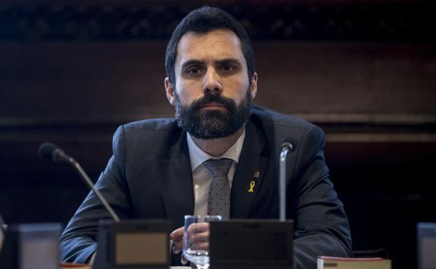 Roger Torrent, presidente del Parlament./Quique García (Efe)