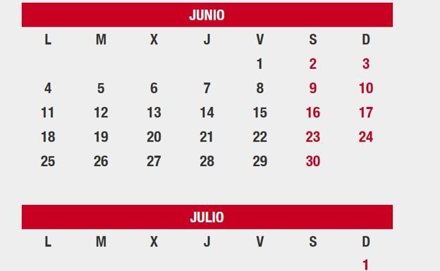 Julio Calendario.En Que Lugares Es Festivo Manana 25 De Julio Fechas Del Calendario
