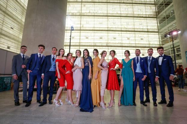 036cf7ae3abfa Granada se viste de blanco con IDEAL. Un espectacular desfile de trajes de  novia ...