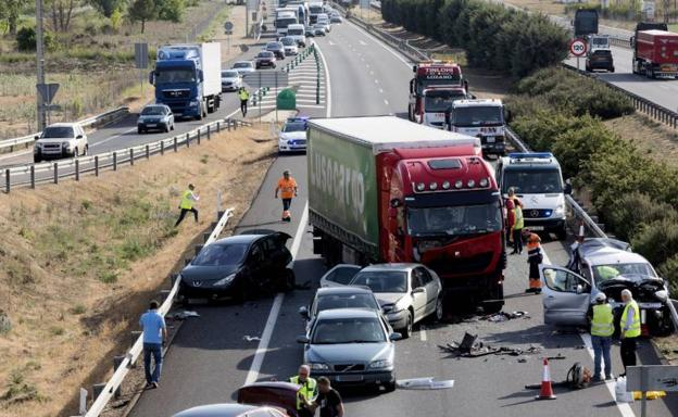 Accidente de tráfico./PABLO REQUEJO EFE
