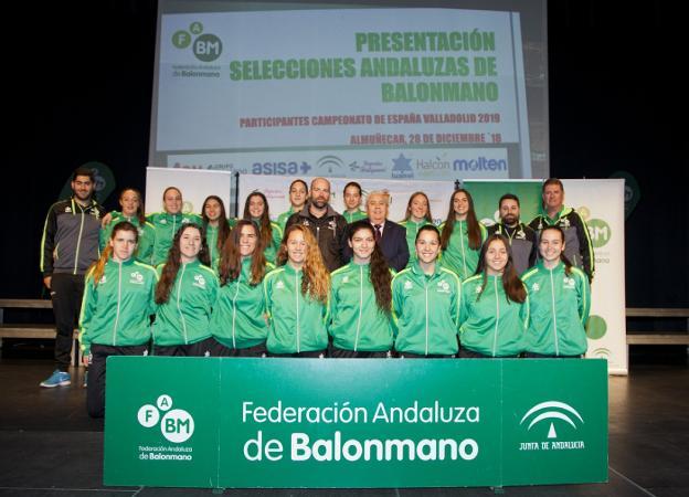 e054937116 La Federación Andaluza despide a sus selecciones en Almuñécar