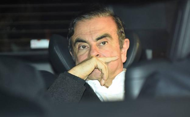 El expresidente de Resault-Nissan, Carlos Ghosn./AFP