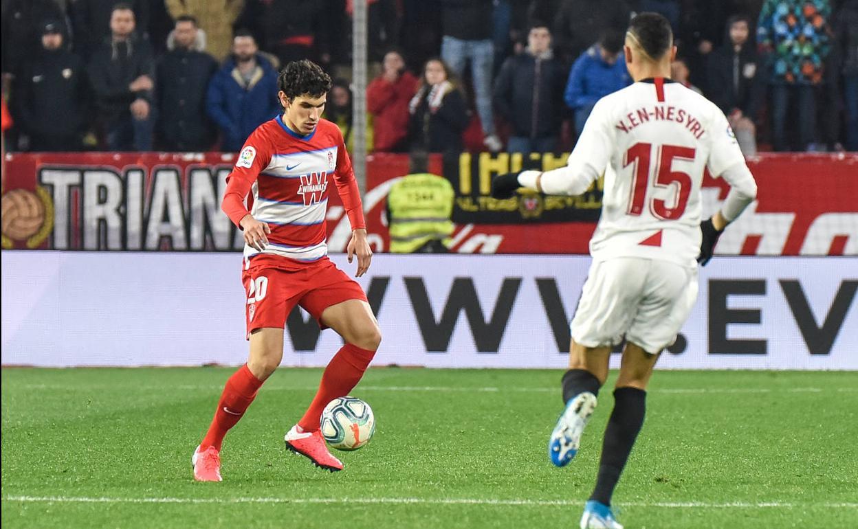 Sevilla - Granada | Vallejo se estrena en la derrota del Pizjuán ...