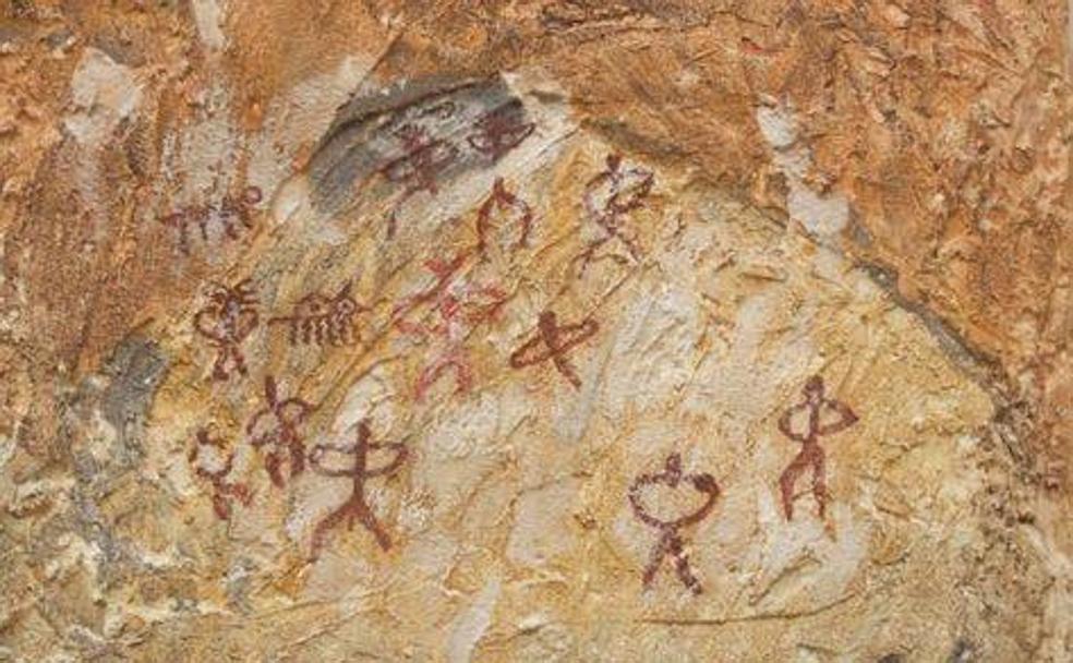 1868: de Góngora descubre el indalo en la cueva de los letreros