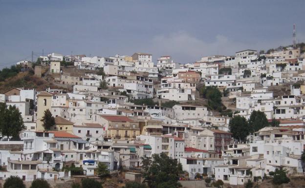 Vista del municipio granadino de Albondón.