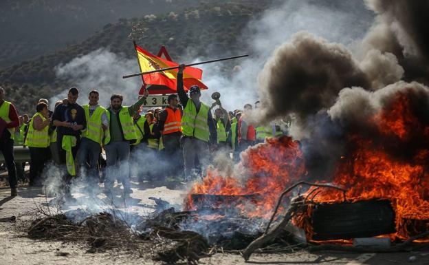 Las calles de Granada que recorrerán los manifestantes del campo