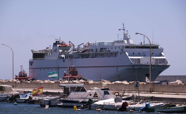 Así tendrá que ser el buque que haga la línea Motril-Melilla