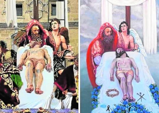 Polémica por el supuesto plagio en el cartel de la Semana Santa de Granada