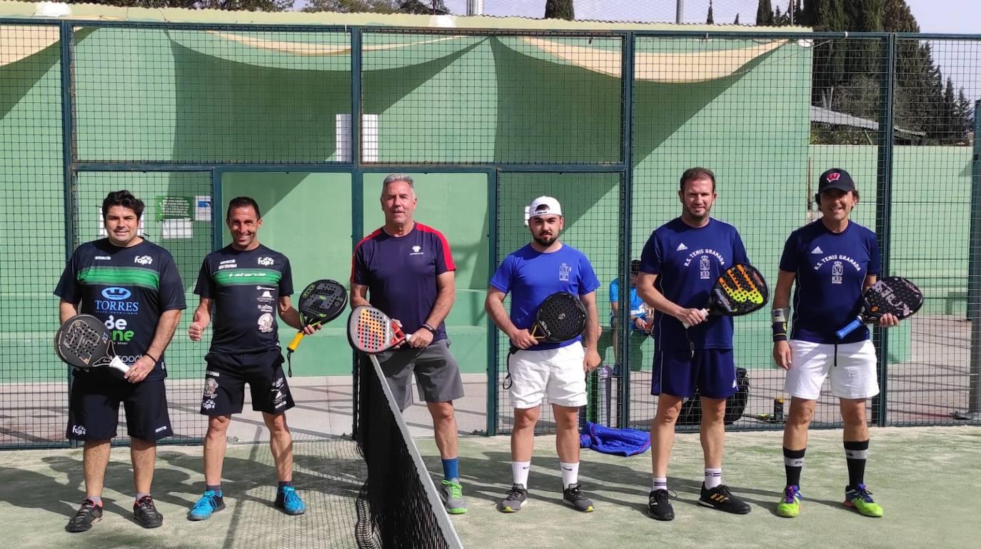 Componentes del equipo A de la Real Sociedad de Tenis. /C. A.