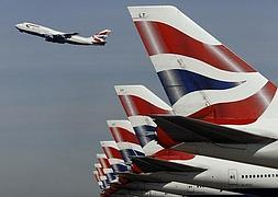 Aviones de British Airways. / REUTERS/