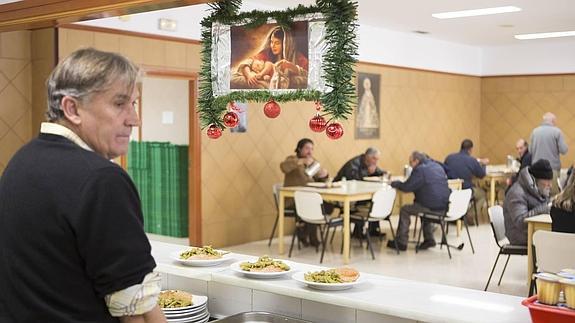 Navidades de albergue y comedor social | Ideal