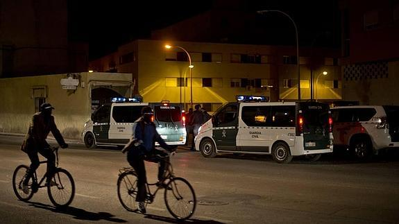 La Guardia Civil sigue vigilando las calles. /