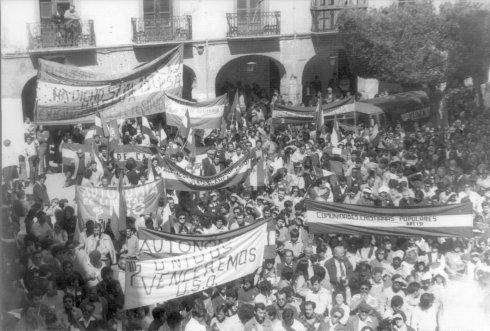 Cuando el Estado cambió la ley para que Almería fuera andaluza