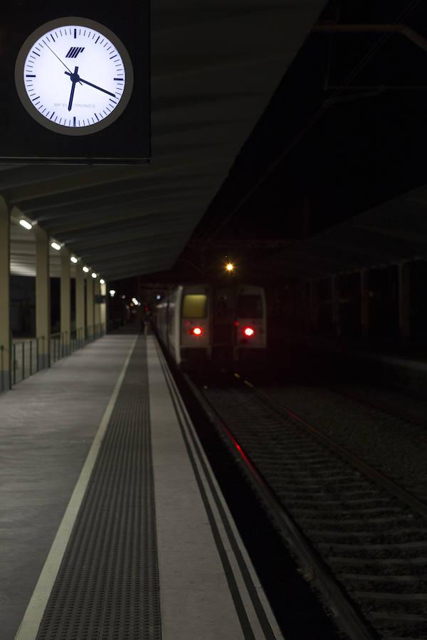 follando en la cabina del tren