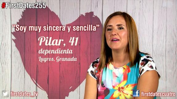La granadina más elegante de 'First Dates'